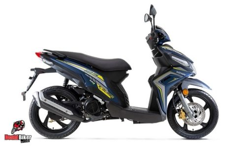 Keeway K-Blade 125 Blue