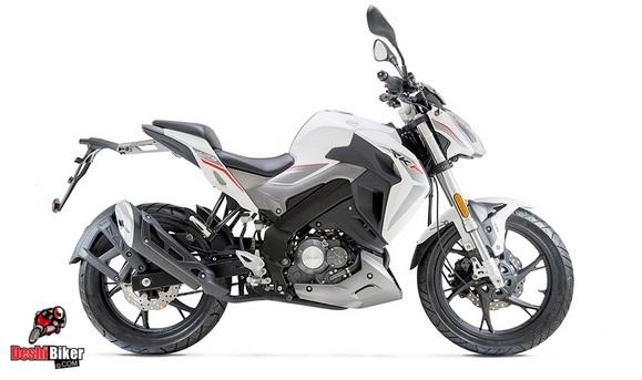 Keeway RKF 125 White
