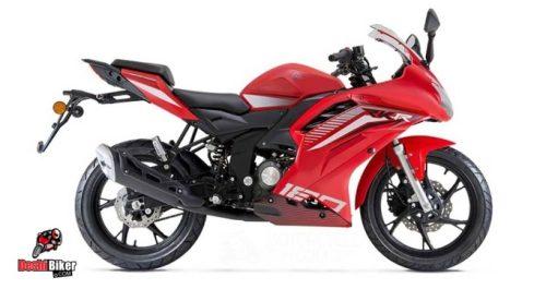 Keeway RKR 165 Red