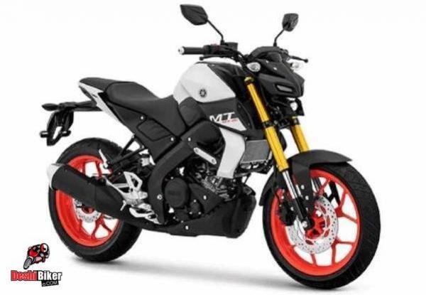 Yamaha MT 15 White Orange