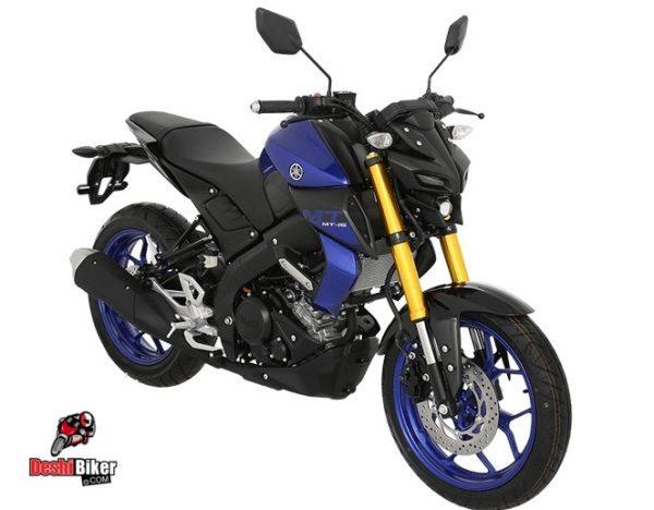 Yamaha MT-15 Blue