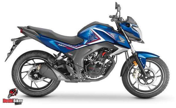 Honda CB Hornet 160R Blue