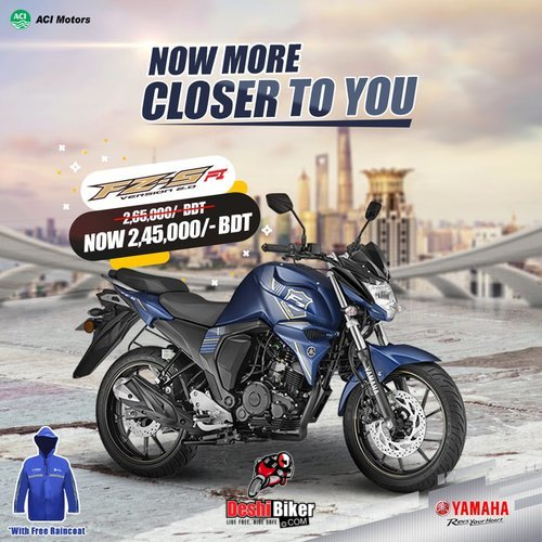 Yamaha FZs V2 double disc price