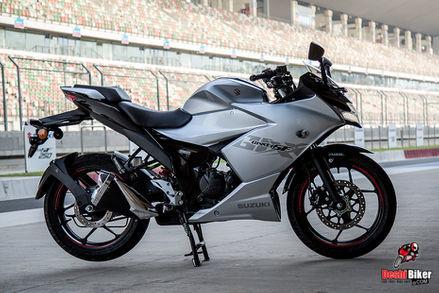 Suzuki Gixxer SF 155 2019 Grey