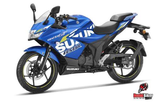 Suzuki Gixxer SF 155 2019 MotoGP Edition