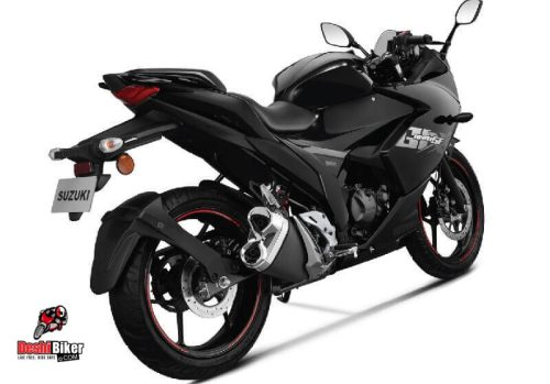 Suzuki Gixxer SF 155 2019 Glass Sparkle Black