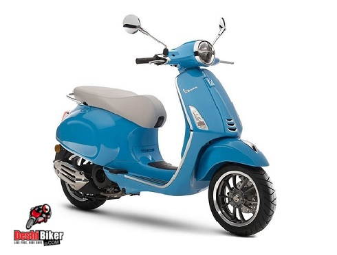 Vespa VXL 125 Matt blue