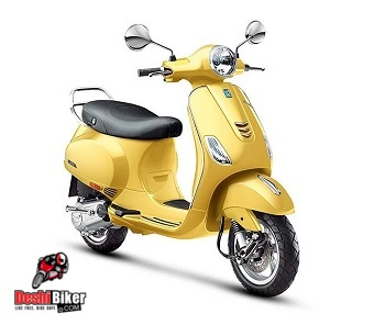 Vespa VXL 150 Yellow