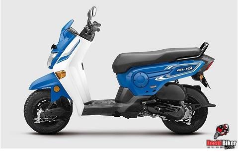 Honda Cliq 110 Moroccan Blue