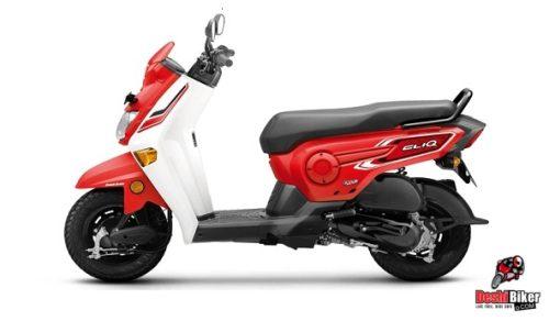 Honda Cliq 110 patriot Red