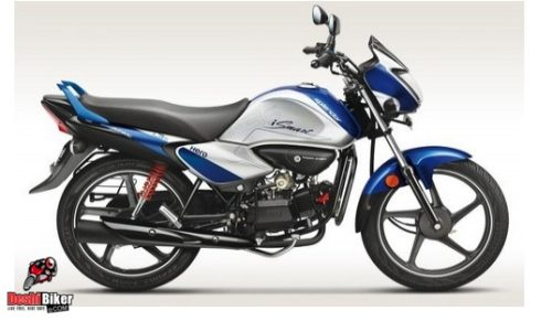 Hero Splendor iSmart 100 excellent Blue