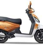 Mahindra Gusto 125 Orange Rush