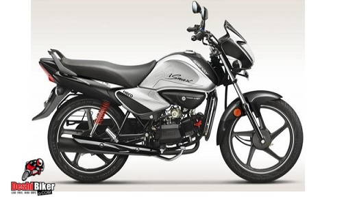 Hero Splendor iSmart 100 Silver and Black
