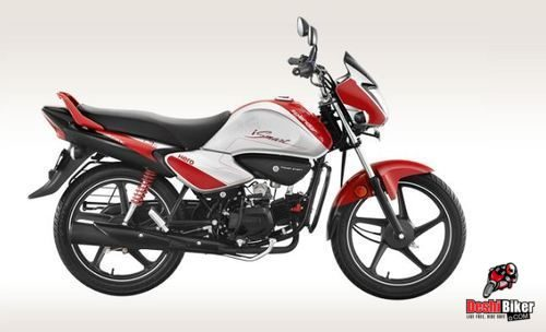 Hero Splendor iSmart 100 Racing Red
