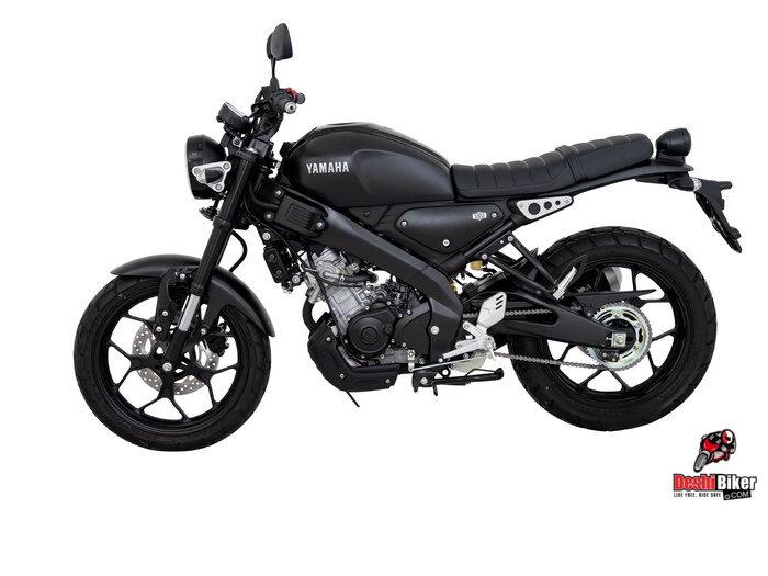 Yamaha XSR 155 Black