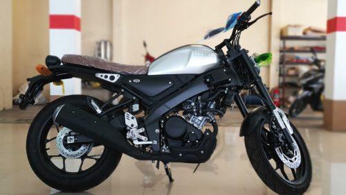 Yamaha XSR 155 grey