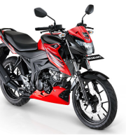 Suzuki gsx 150 Bandit strong red