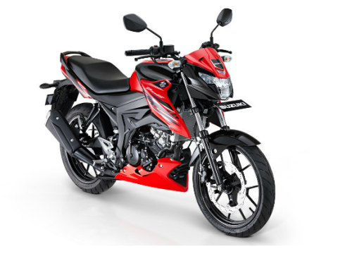 Suzuki gsx 150 Bandit strong red