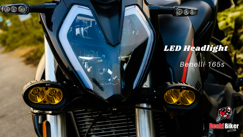 Benelli 165s headlight