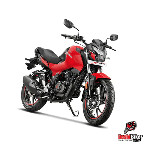 Hero Thriller 160R Red with Grey