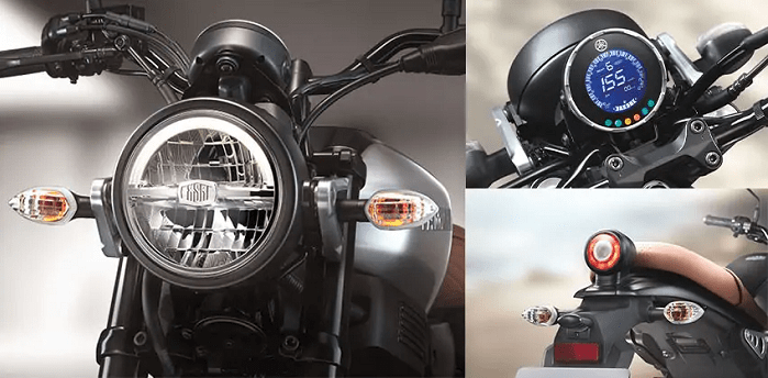 Yamaha XSR 155 features