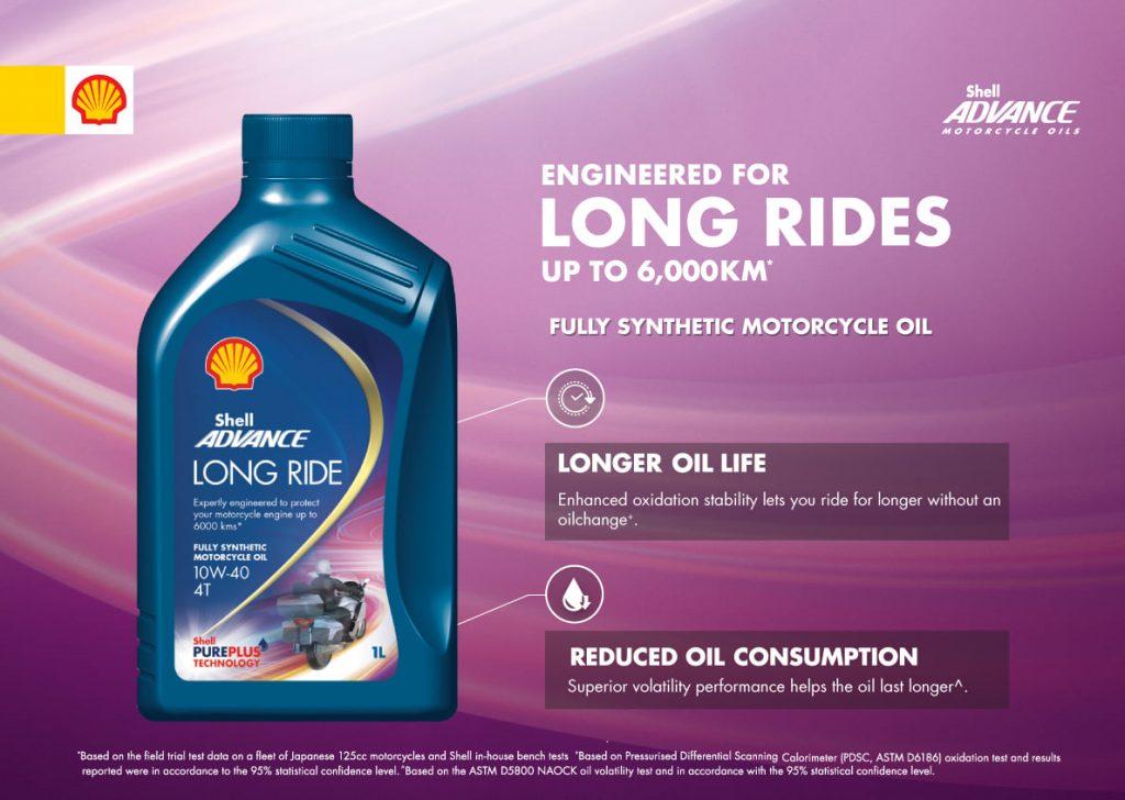 Shell Advance long ride 10W40