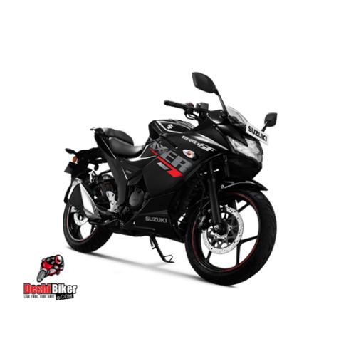 New Suzuki Gixxer SF Black